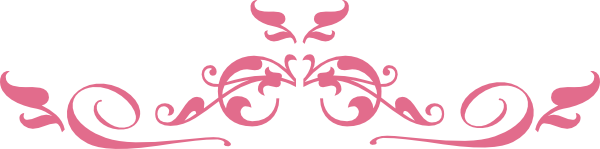 pink top border clip art at clker com vector clip art online