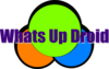 Whats Up Droid .net Logo Clip Art