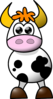 Cow No Arms Clip Art