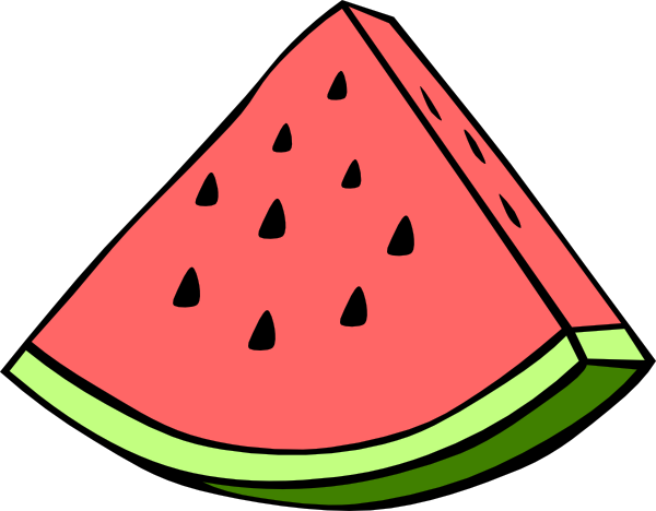 watermelon clip art at clker com vector clip art online royalty rh clker com free watermelon clip art images free clipart watermelon slice