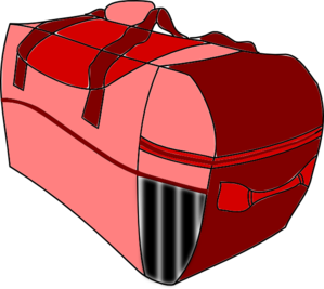 Red Baggage Clip Art