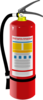 Fire Extinguisher  Clip Art