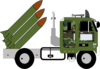 Missile Truck Clip Art