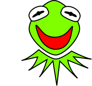 kermit clip art at clker com vector clip art online royalty free rh clker com Kermit the Frog Decals Kermit the Frog Face Clip Art