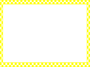 Yellow Checkerboard Frame Clip Art at Clker.com - vector ...