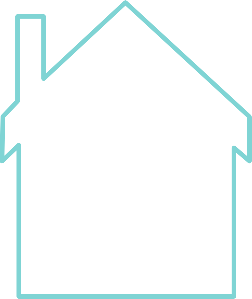 clip art blue house - photo #27