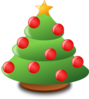 Cartoon Christmas Tree Clip Art