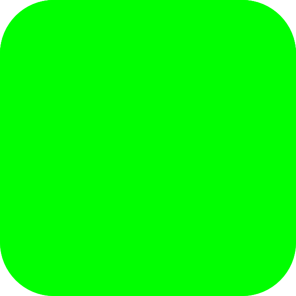 Clipart Green Square 4 on Shapes That Are Large