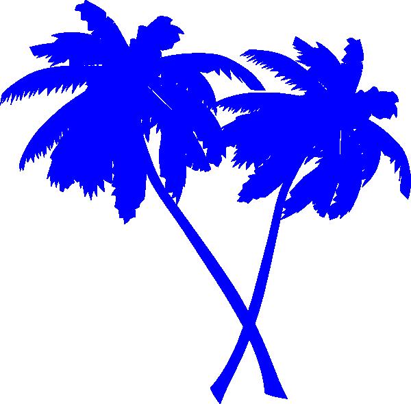 trees palm blue - photo #33