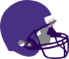 Purple On Purple Helmet Clip Art