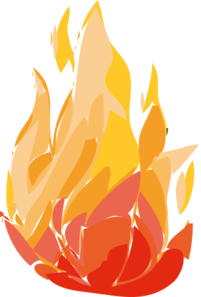 Fire Flames Burning Clip Art
