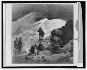 The Modoc War - Captain Jack S Cave In The Lava Beds Clip Art