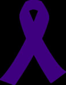 purple cancer ribbon clip art at clker com vector clip art online rh clker com free lung cancer ribbon clip art free ovarian cancer ribbon clip art
