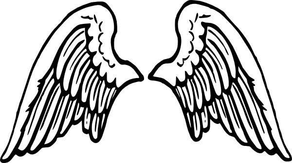 wings clip art at clker com vector clip art online royalty free