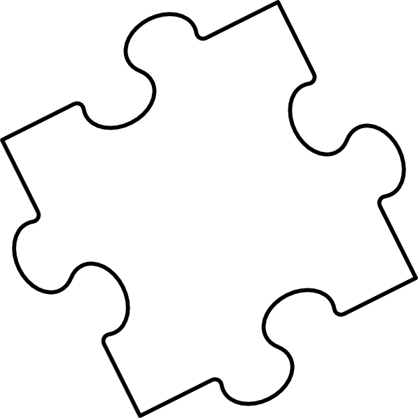 Puzzle Piece Clip Art at Clker.com - vector clip art online, royalty ...