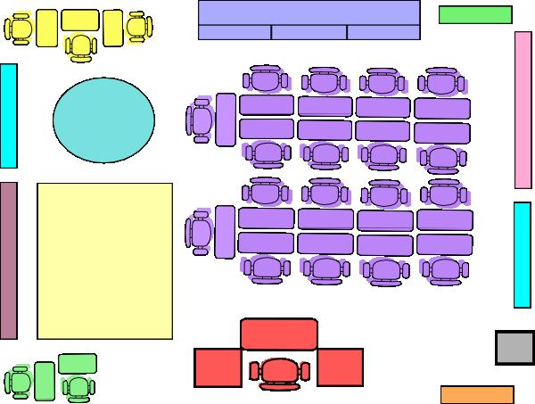 Z Arrangement Classroom Design Definition ~ P classroom arrangement clip art at clker vector