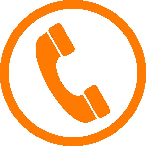 Hasil gambar untuk icon phone orange png