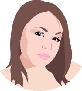 Young Woman Clip Art