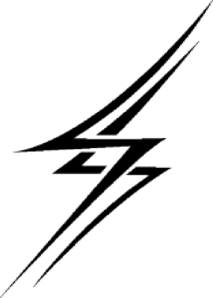 Zoomed In Lightning Bolt Clip Art at Clker.com - vector ...