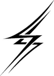 Zoomed In Lightning Bolt Clip Art