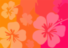Flower Pink Orange Clip Art