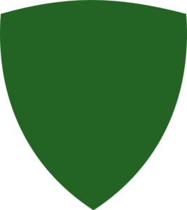 Green Simple Shield Clip Art