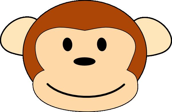 clipart monkey face - photo #30