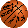 Happy Birthday Drew Clip Art