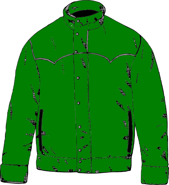 clipart of a jacket - photo #2