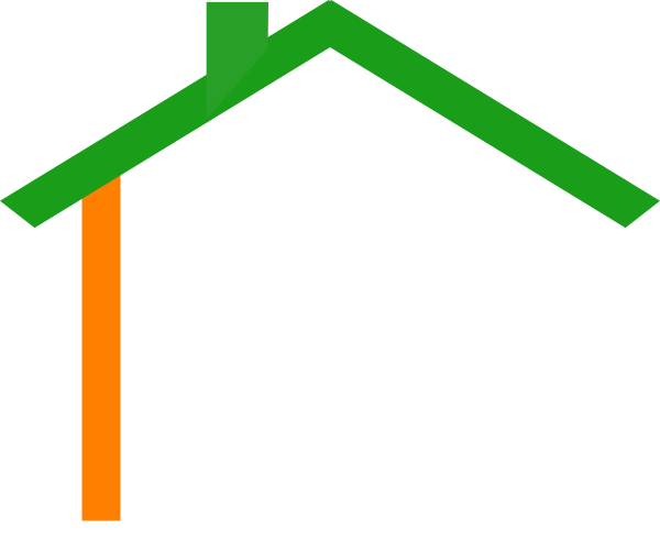 free house roof clip art - photo #20
