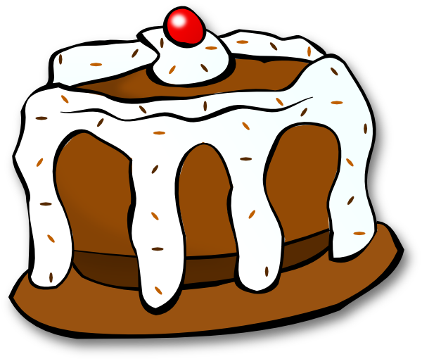 Chocolate Cake Clip Art at Clker.com - vector clip art ...