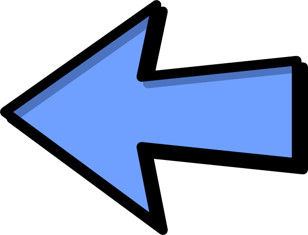 Arrow Left Blue Png Transparent Clip Art Image: Blue Arrow Left Clip Art At Clker.com