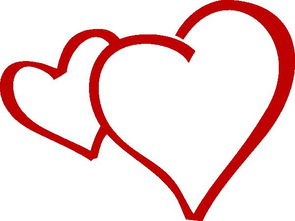 Hearts Together Clip Art at Clker.com - vector clip art ...