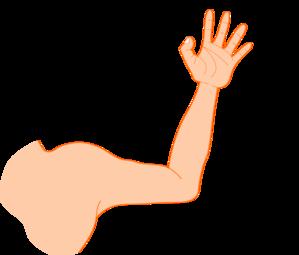 left arm clip art at clkercom vector clip art online