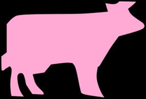 Cow Outline Clip Art at Clker.com - vector clip art online ...