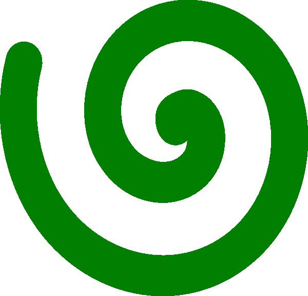 Espiral Verde Clip Art at Clker.com - vector clip art online, royalty ...