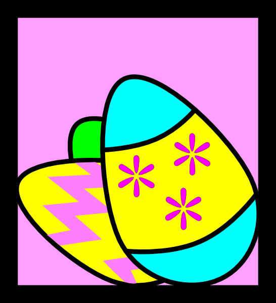 little easter eggs clipart. easter eggs clipart.