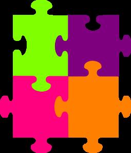 jigsaw puzzle 4 pieces clip art at clker com vector clip art rh clker com puzzle pieces vector art puzzle pieces vector file