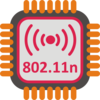 Wifi 802.11n Chip Clip Art