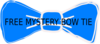 Free Mystery Bow Tie Clip Art