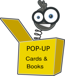 Pop Up Book Title Clip Art