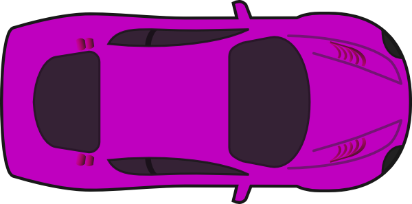 Purple Car Top View Clip Art At Clker Com Vector Clip