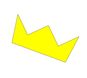 Crooked Crown Clip Art