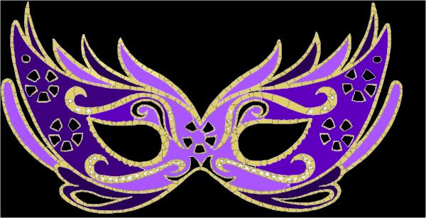 Tattoo masquerade mask black  Etsy