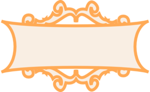 Orange Frame Clip Art