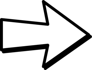 White Right Arrow Clip Art