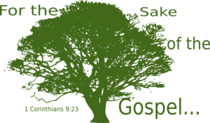 Tree Silhouette--green Gospel Clip Art