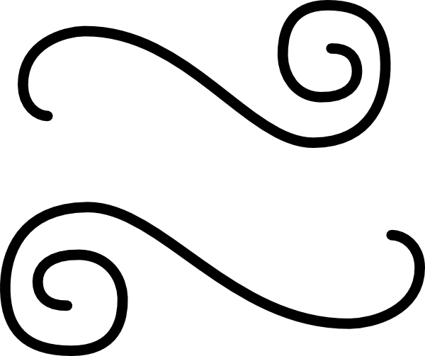 black double scroll flourish clip art at clker com vector clip art rh clker com clip art scrollwork clip art scroll lines