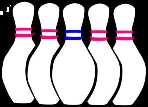 bowling pins clip art at clker com vector clip art online royalty rh clker com crown green bowling images clip art bowling clipart free