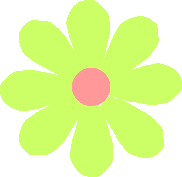 Flower Cute Clip Art at Clker.com - vector clip art online ...
